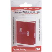 3M Double Sided Tape 50mm X 50mm X 3