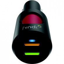 FYNDR EMERGENCY LOCATOR + 4.2A DUAL USB CAR CHARGER CHRG-ALRT