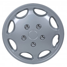 "GR8DEALS Wheel Cover 14"" Silver"