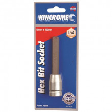 KINCROME Hex Key Socket 10mm X 1/2in Dri