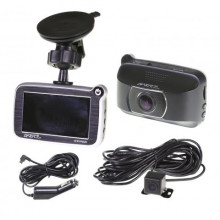 GATOR GHDVR62R 2CH 1080P/720P HD DASH CAM - WITH 8GB SD CARD