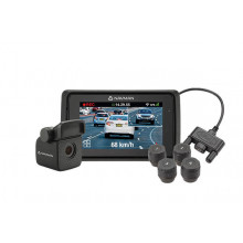 Navman MIVUE860 Front and Rear Camera Recorder with TPMS