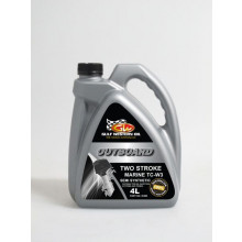 Gulf Western Oil Two Stroke Outboard Marine Oil TCW-3 4L