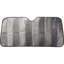 FRONT SUNSHADE HD BUBBLE BLACK 150X70CM