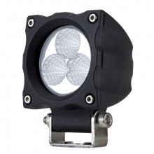LED WORK LIGHT SQUARE 10-30V 15W FLOOD 70M