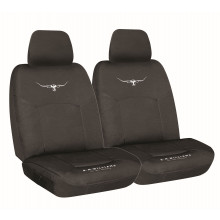 RM Williams Canvas Seat Cover - Black