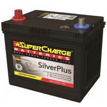SuperCharge SilverPlus Battery 57-550CCA SMF57
