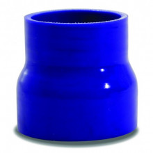 SAAS Straight Silicone Hose Reducer 76x102x102mm Blue