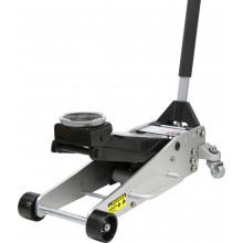 2000KG HYDRAULIC ALUMINIUM/STEEL TROLLEY JACK 100-465MM